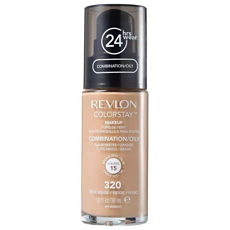 Base Revlon Colorstay True Beige 320 Mista e Oleosa  30ml