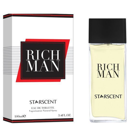 Rich Man Starscent  Masculino Eau de Parfum 100ml