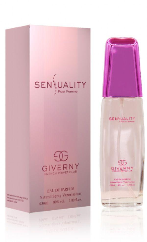 Sensuality  Pour Femme Giverny Feminino Eau de Parfum 30ml