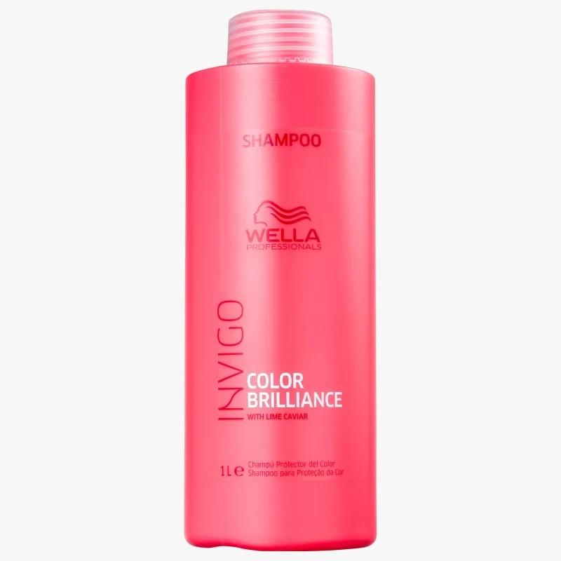 Shampoo Color Brilliance Wella Professionals Invigo 1 L