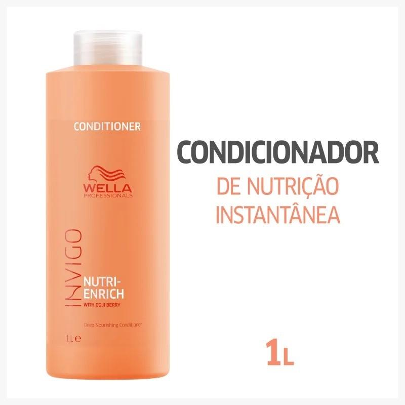 Shampoo Nutri Enrich Wella Professionals Invigo 1000ml