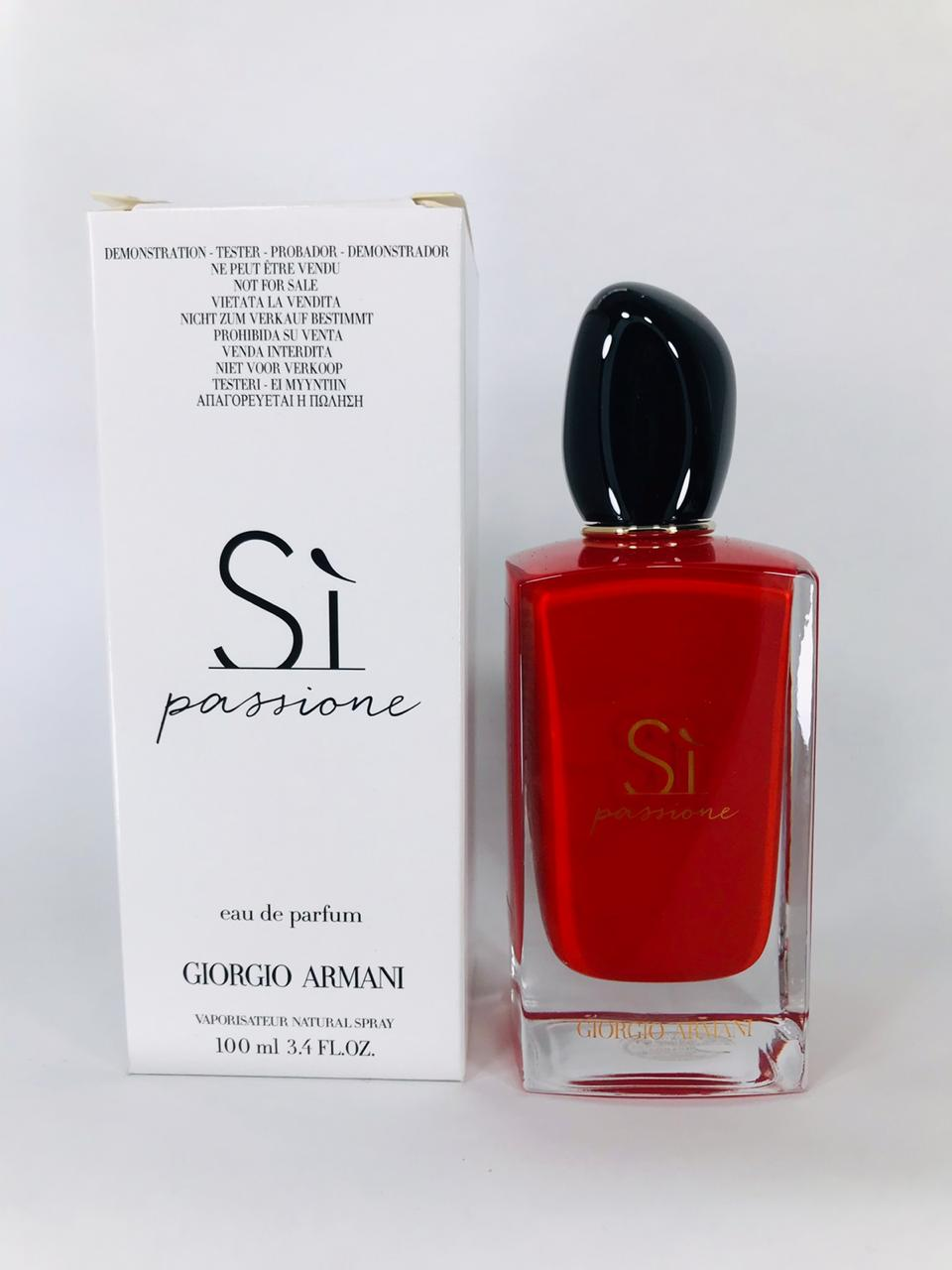 Sì Passione Giorgio Armani Feminino Eau de Parfum  100ML - TESTER