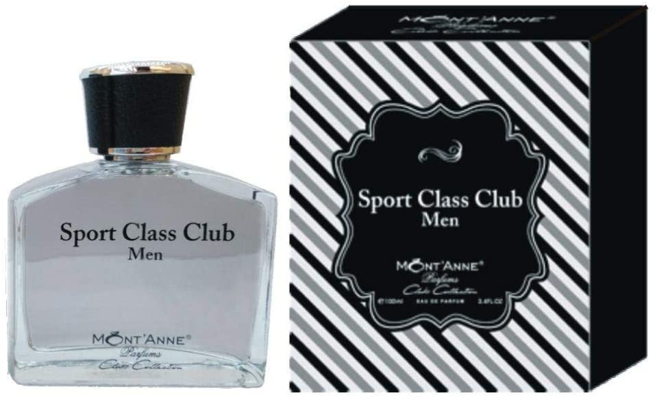 Sport Class Club Men MontAnne Masculino Eau De Parfum 100 ml