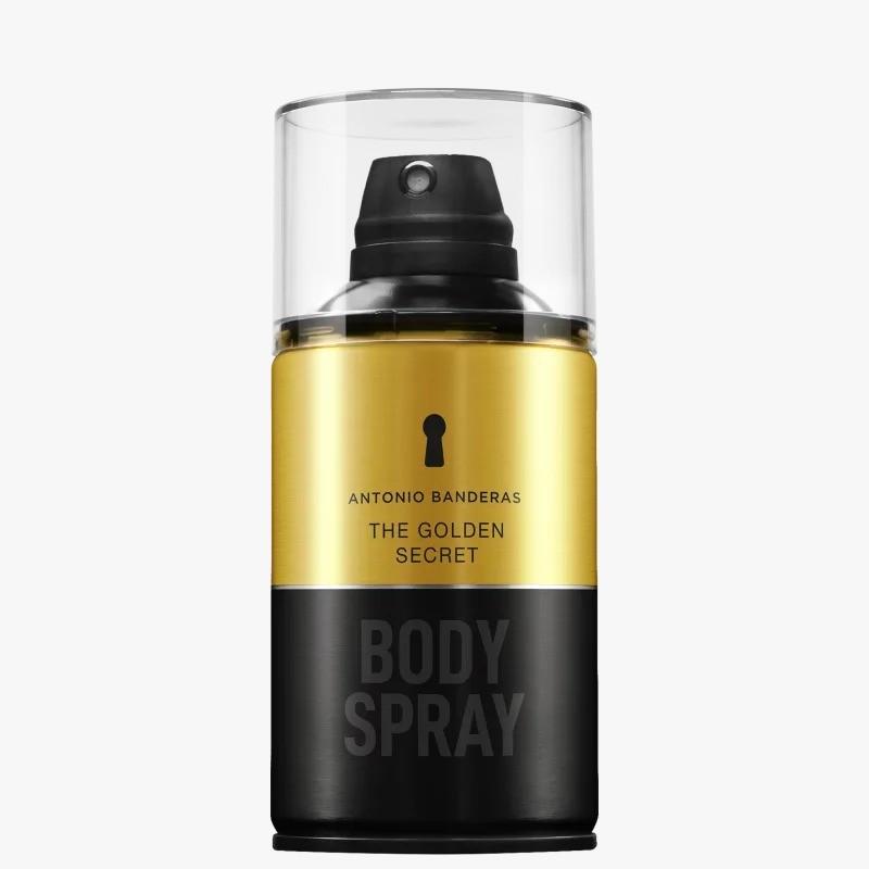The Golden Secret Antonio Banderas Masculino Body Spray 250ml