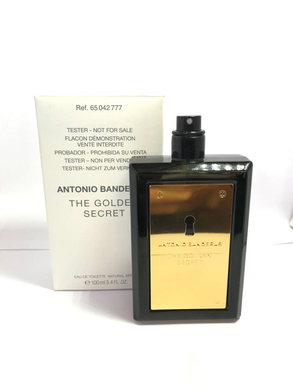 The Golden Secret Antonio Banderas Masculino Eau de Toilette 100ML - Tester