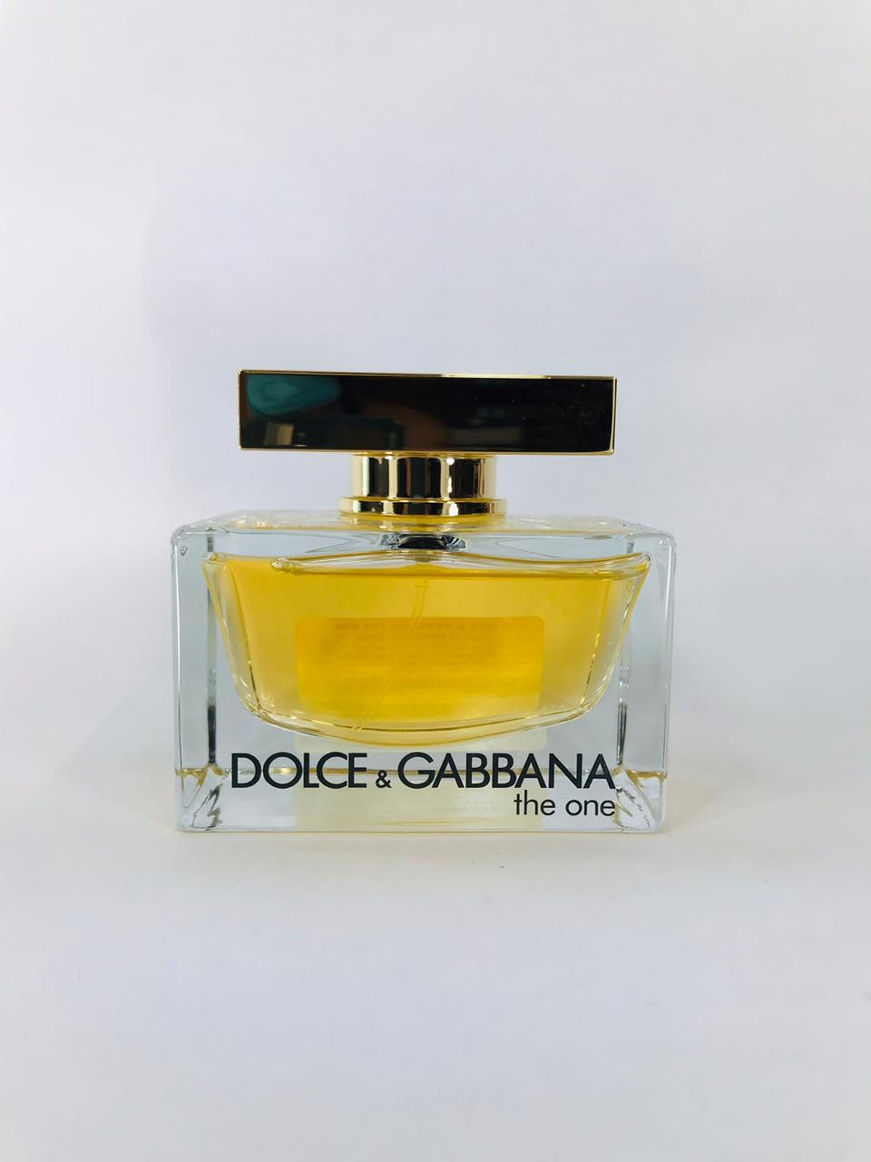 The One Dolce Gabbana Feminino Eau de Parfum 75 – Tester