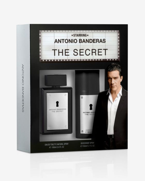 The Secret Antonio Banderas Masculino Kit EDT 100ml + Desodorante 150ml
