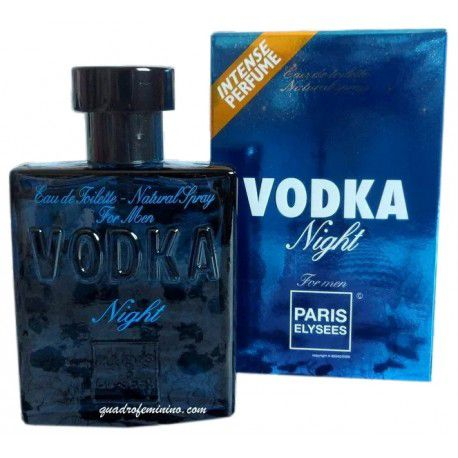 Vodka Night Paris Elysees Masculino Eau de Toilette 100 ml