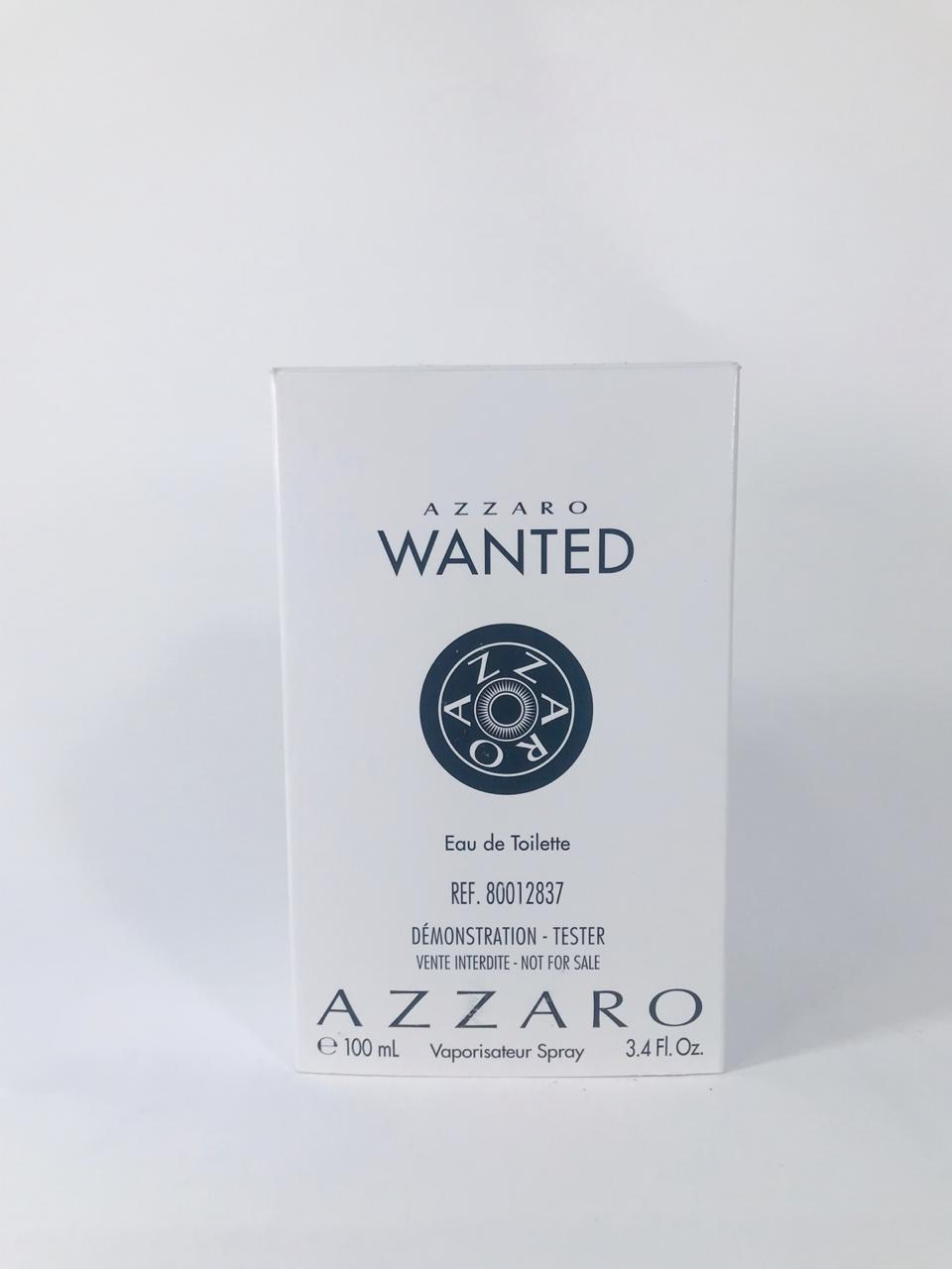 Wanted Azzaro Masculino Eau de Toilette 100 ml - Tester