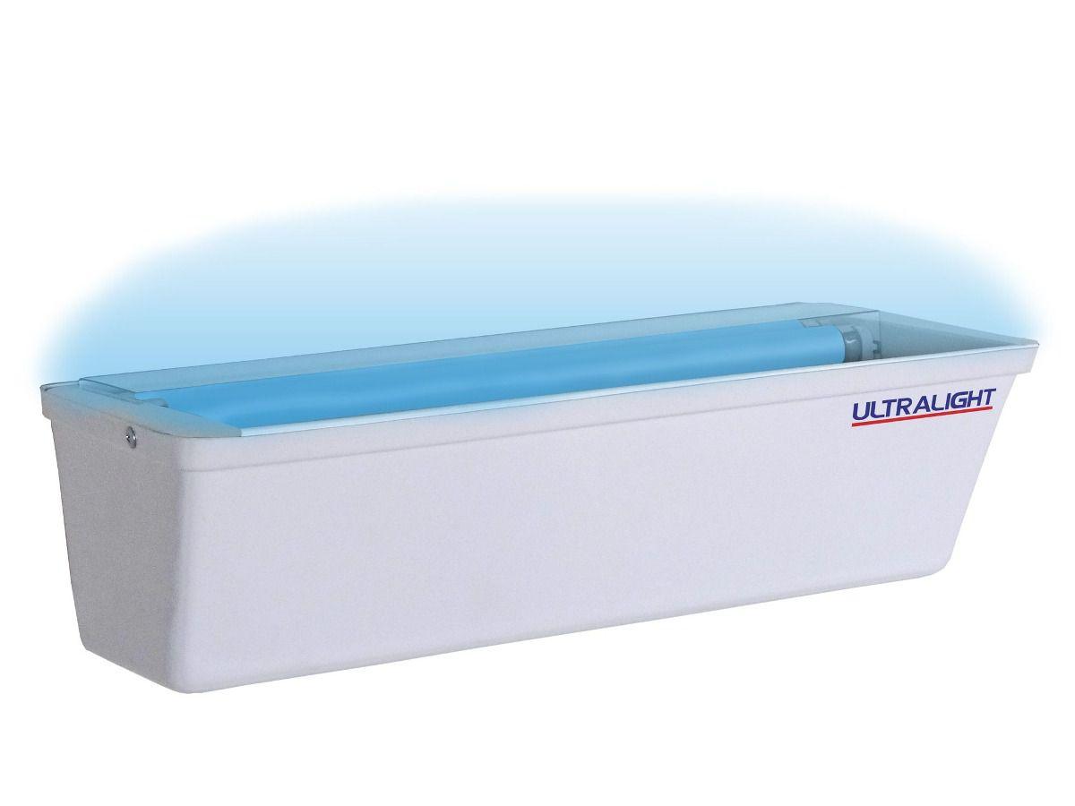Armadilha Luminosa Ultralight Mata-Mosca Mosquito Arandela Z-30