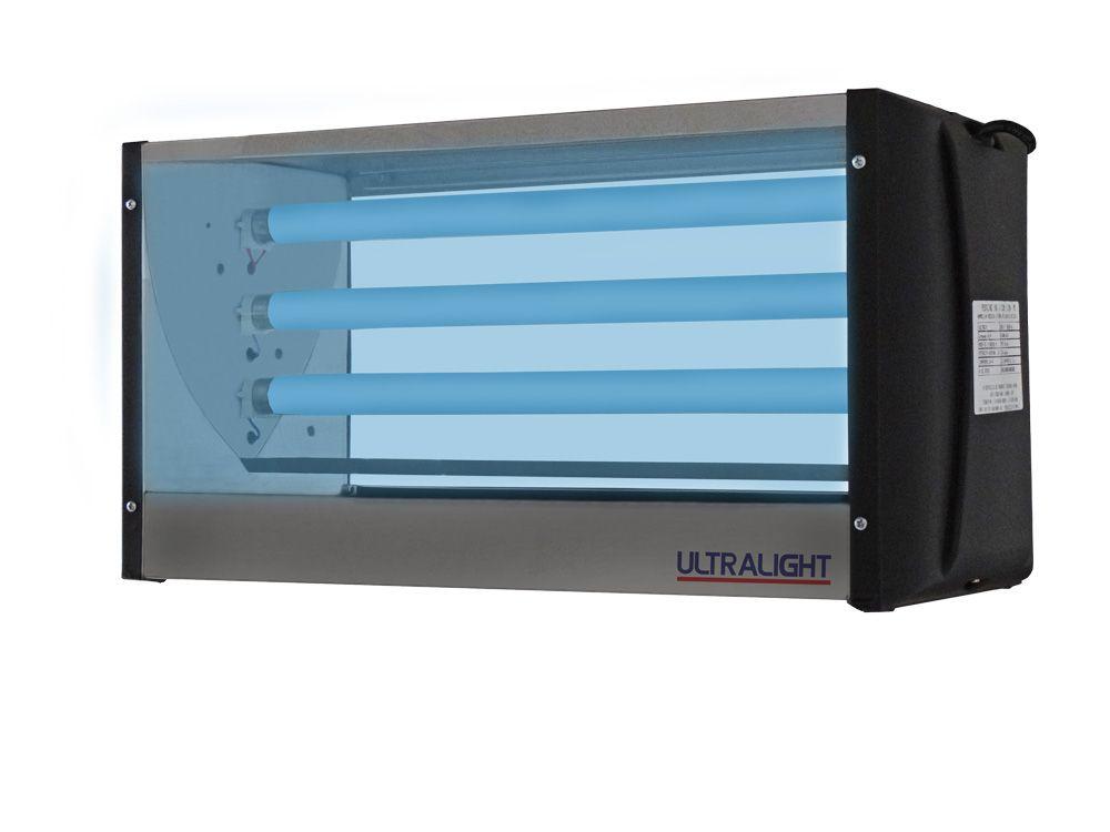 Armadilha Luminosa Mata Mosca Inox  Cl-45