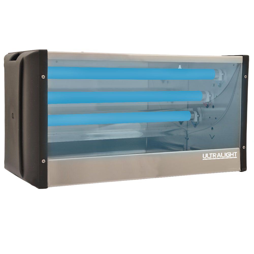 Armadilha Luminosa Mata-Mosca Lateral Inox LI-45 (3x15W)