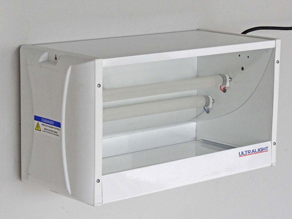 Armadilha Luminosa Mata-Mosca Lateral LX-30