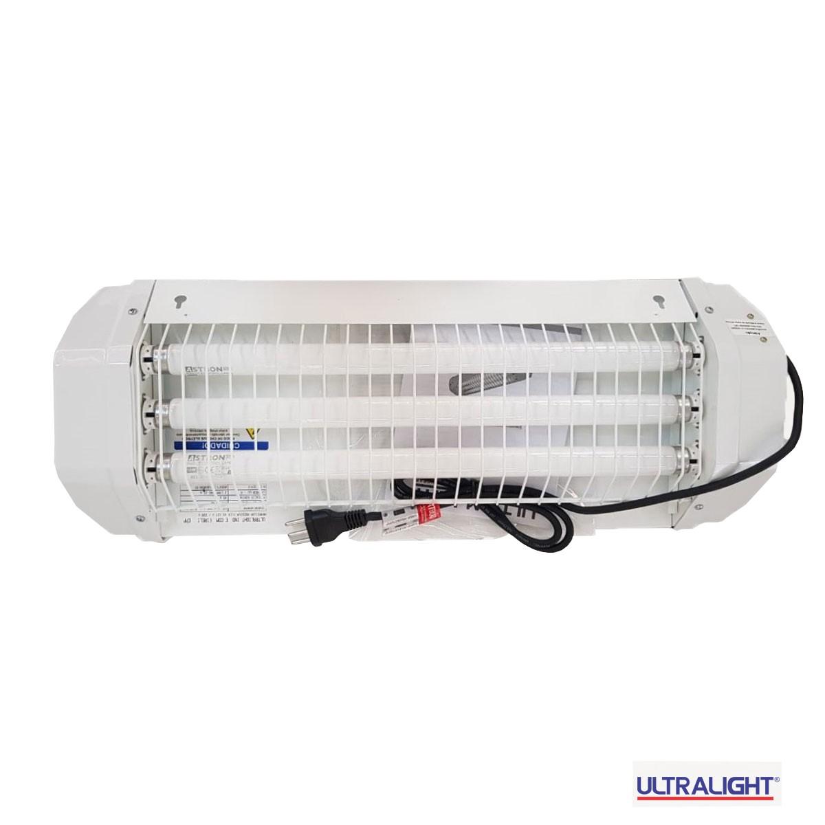 Armadilha Luminosa Ultralight FLEX-45 Mata Mosca