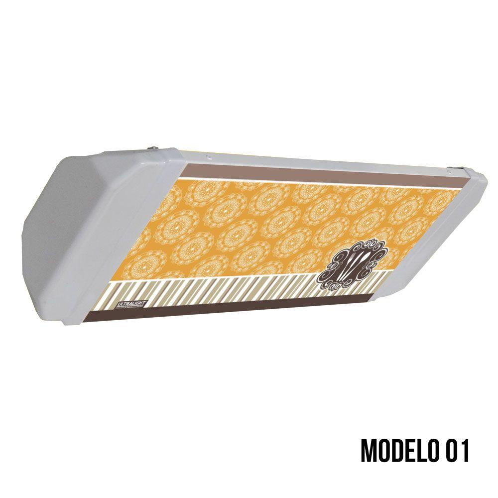 Armadilha Luminosa Ultralight Mata-Mosca Arandela FLEX-45 Decorada/ Personalizada
