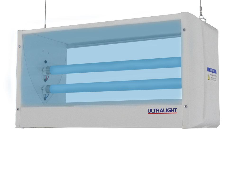 Armadilha Luminosa Ultralight Mata Mosca Central C-30 Fixa No Teto