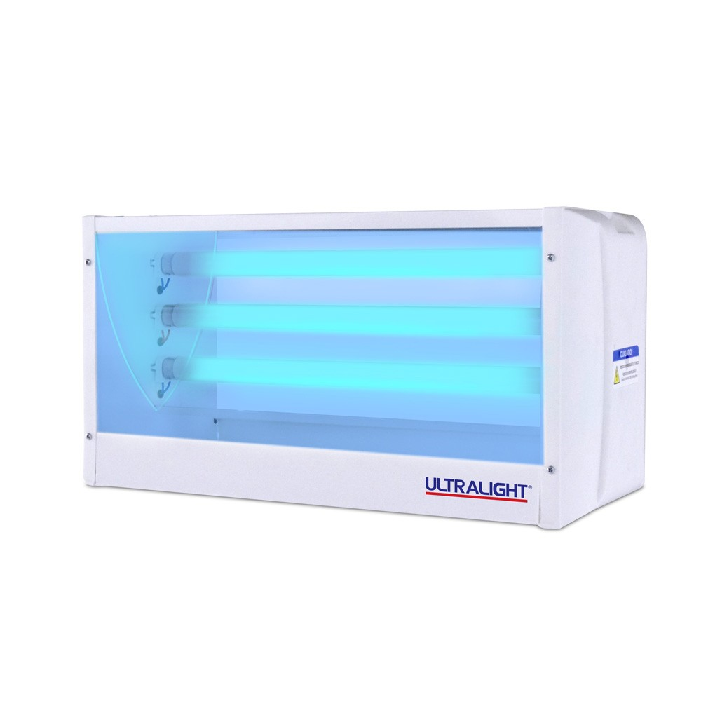 Armadilha Luminosa Ultralight Mata-Mosca LX-45 Branca