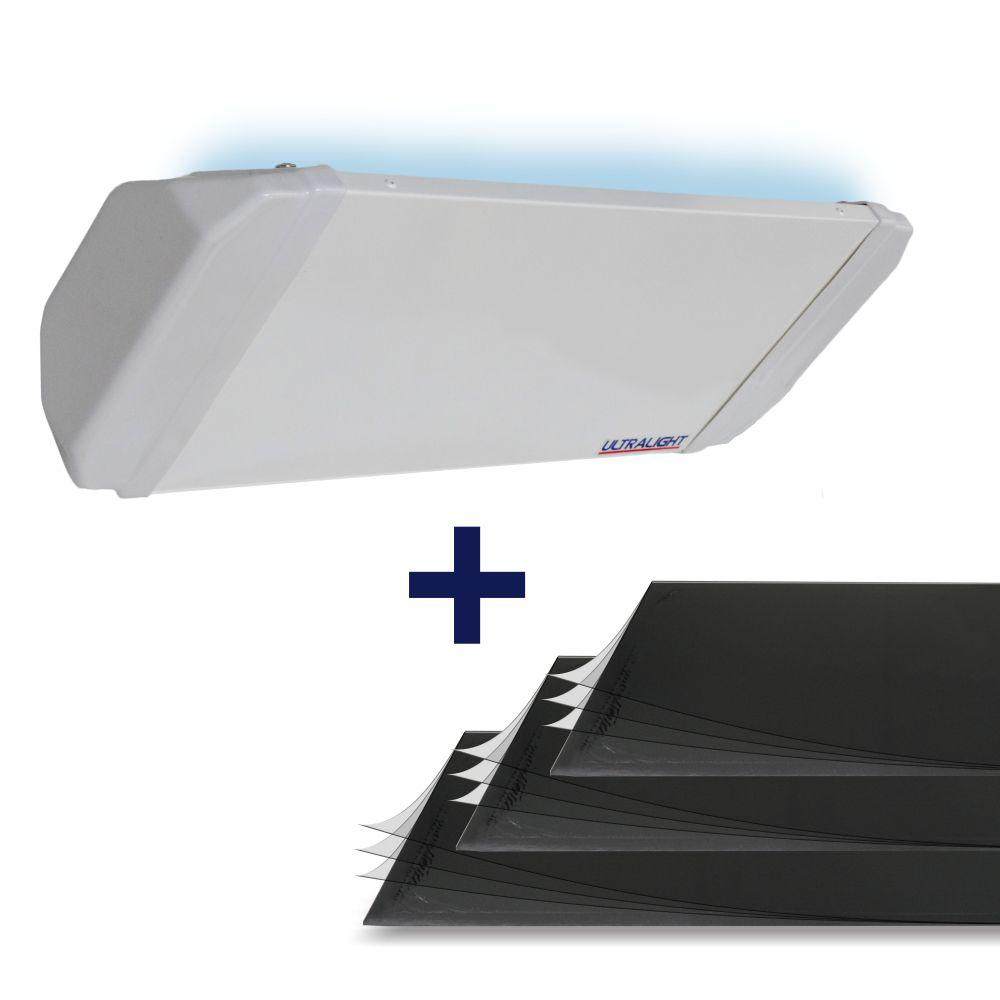 Armadilha  Mata-Mosca FLEX-45 + Brinde de 03 placas adesivas Multicamadas (Equivale a 09 placas comuns)