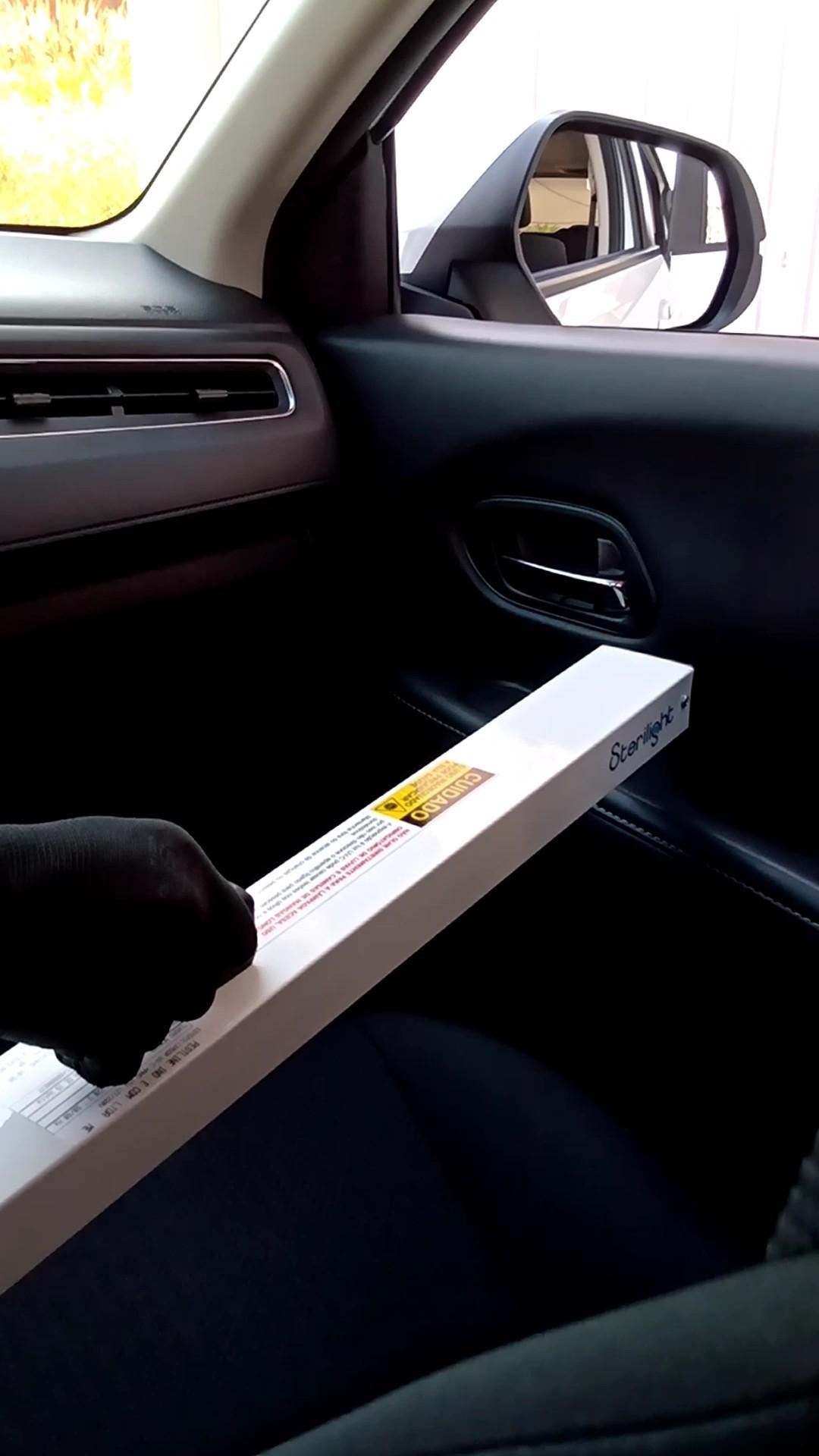 Hand Esterilizador Portátil Para Carro + Adaptador