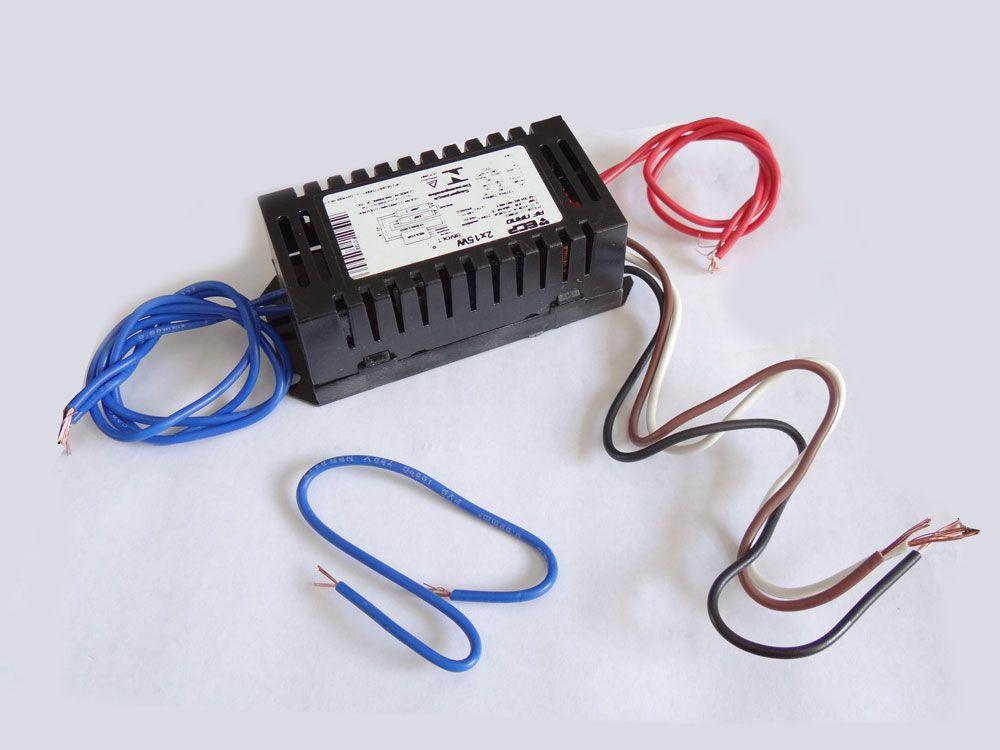 Reator Duplo 2x16/15W. para Lâmpadas UV-A
