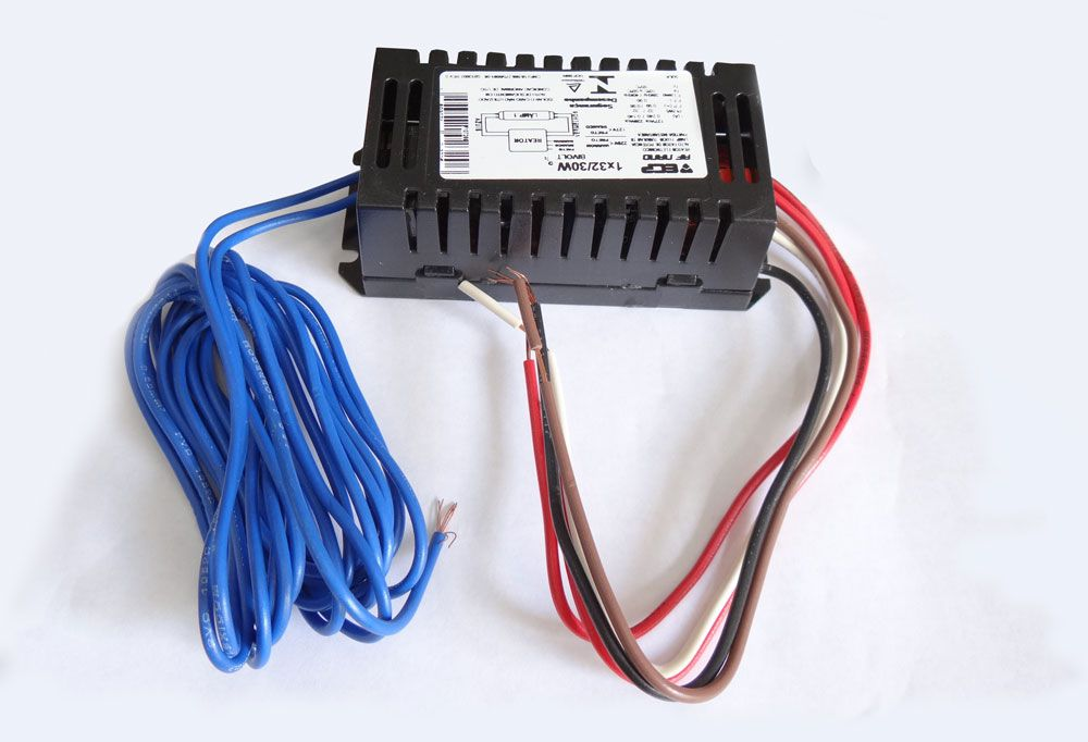 Reator Duplo 1x32/30W. para Lâmpadas UV-A