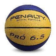 Bola Penalty Basquete 6.5 Oficial Feminino - Azul/Amarelo