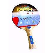 Raquete de Tênis de Mesa Klopf - Shark 2 estrelas - Ping Pong