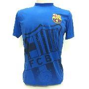 Camisa de Passeio Barcelona Licenciada - Masculina - Azul