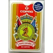 Baralho Copag Naipe Español - Vermelho