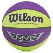 Bola Wilson Basquete MVP - Verde/Roxo