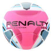Bola de Futebol Society Penalty Se7e R3 KO IX - Branco e Rosa