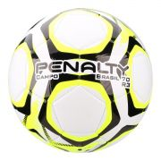 Bola Futebol Campo Penalty Brasil 70 R3 - Branco e amarelo