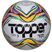 Bola Futebol Campo Topper Samba N 3 - Multicores