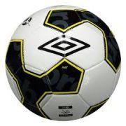 Bola Futebol Campo Umbro Pivot Supporter - Branco e Amarelo