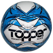 Bola Futebol Society Topper Slick 2020 - Azul/Preto