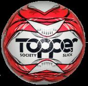 Bola Futebol Society Topper Slick 2020 - Rosa/Preto