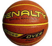 Bola Penalty Basquete Cross Over 7.8 X - Marrom