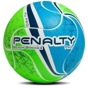 Bola Penalty Beach Soccer Pró Termotec - Verde/Azul