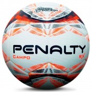 Bola Penalty Campo RX R1 N4 IX - Branco e Laranja