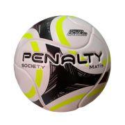 Bola Society Penalty Matis IX - Branco/Amarelo