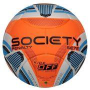 Bola Society Penalty Se7e R3 KO IX - Branco e Laranja