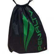 Bolsa Penalty Gym Bag - Preto/Verde