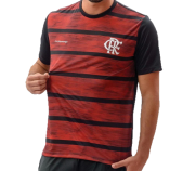 Camisa Braziline Flamengo Proud - Masculino - Preto