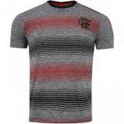 Camisa Braziline Flamengo Risk - Masculino - Mescla Cinza