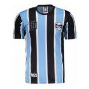 Camisa Grêmio Placar  - Azul/Preto