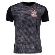 Camisa Corinthians Basic Camuflagem Masculino - Preto/Cinza