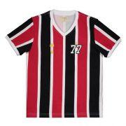 Camiseta São Paulo Tricolor 1977 - Adulto