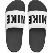 Chinelo Nike Offcourt - Masculino - Adulto - Cinza e Branco