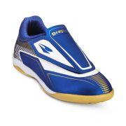 Chuteira Futsal Drayzinho Infantil 157 - Azul/Ouro