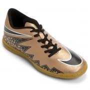 Chuteira Futsal Nike Hypervenom Phade ll IC Masculino - Cobre/Preto